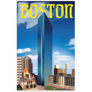 city poster illustrators