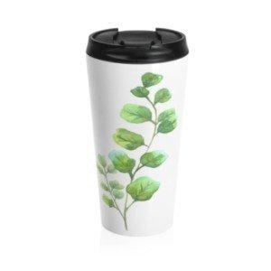 Botanical Travel Mug Artist Designed Products